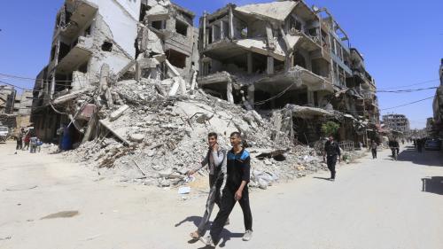 Syrie : les experts chargés d'enquêter sur l'utilisation éventuelle d'armes chimiques n'ont pas eu accès au site de Douma