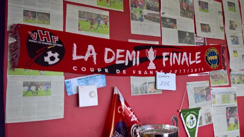 """Coupe de France: aux Herbiers, """"on sent qu'on vit quelque chose d'historique"""" avec cette demi-finale du club vendéen"""