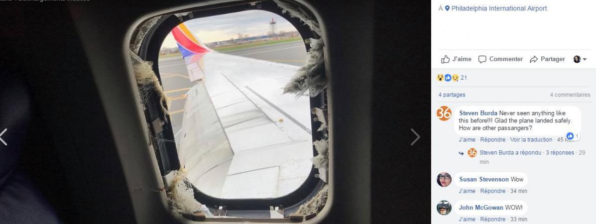 Video etats unis le moteur d 39 un avion explose dans les for Vol interieur bresil