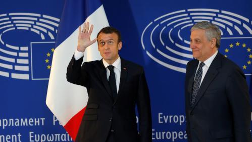 DIRECT. Regardez le premier discours d'Emmanuel Macron devant le Parlement européen