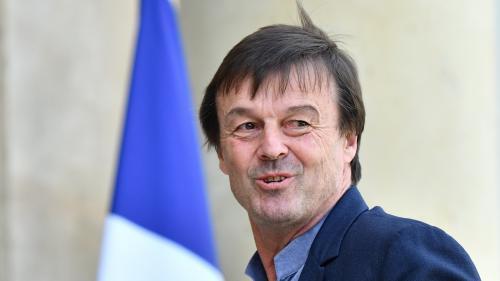 """VIDEO. """"Ne confondons pas écologie et anarchie"""", lance Nicolas Hulot aux zadistes de Notre-Dame-des-Landes"""