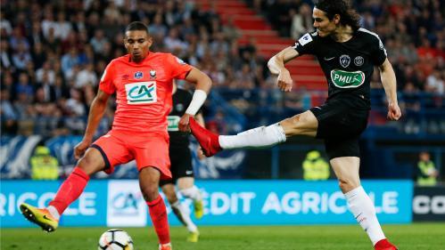 Le PSG mène 2 à 1 face à Caen : regardez en direct qui affrontera Les Herbiers en finale de la Coupe de France