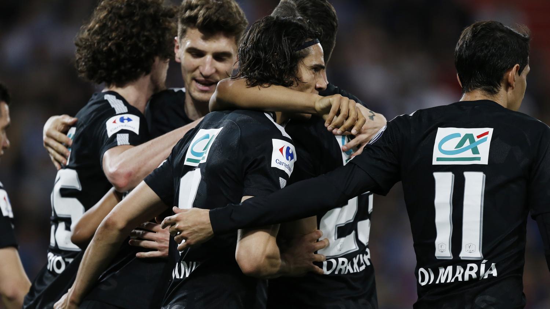 Coupe de france le psg bat caen 3 1 et rejoint les herbiers en finale - Coupe de france france 3 ...