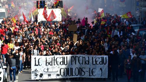 Marseille : 5700 manifestants selon un comptage indépendant... 65000 selon la CGT