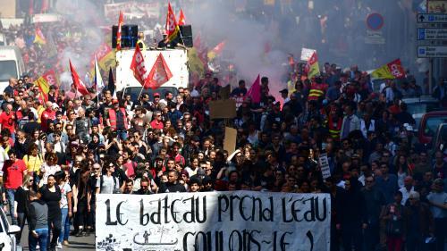 Marseille: 5700manifestants selon un comptage indépendant... et 65000 selon la CGT