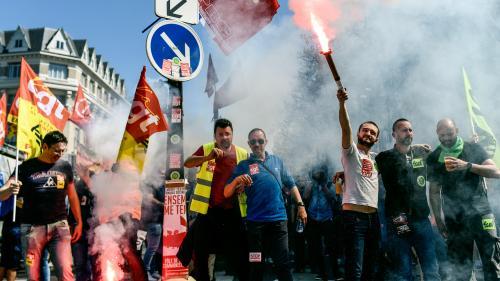 VIDEO. Mobilisation interprofessionnelle : plus de 100 000 personnes dans les rues en France
