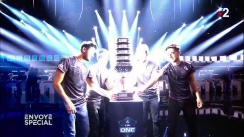 E-sport : bienvenue dans le monde des maîtres du jeu (vidéo)