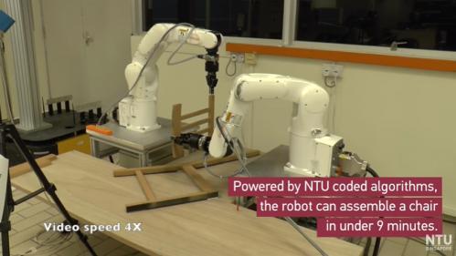VIDEO. Ce robot est capable de monter seul une chaise Ikea en moins de 9 minutes