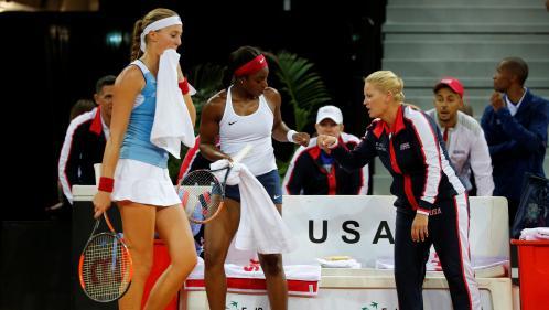 Fed Cup : pas d'exploit pour la France, éliminée par les Etats-Unis en demi-finales