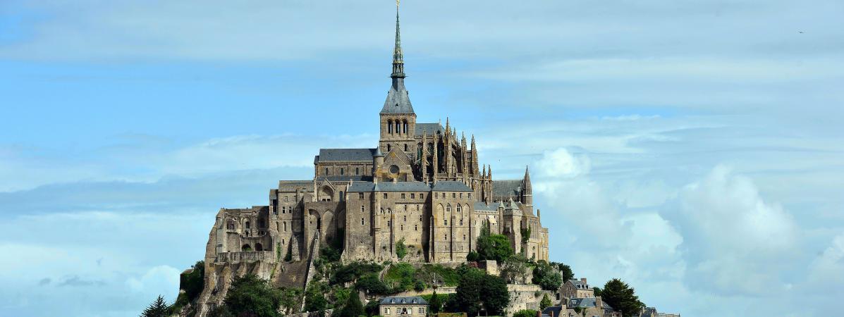 Le Mont-Saint-Michel le 2 juillet 2017.