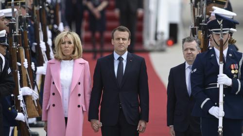 Emmanuel Macron : les honneurs de l'Amérique au chef de l'État français