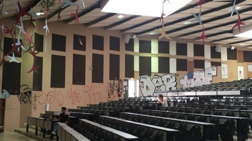 Hérault : la police investit l'université Paul-Valéry de Montpellier pour faire le bilan des dégâts