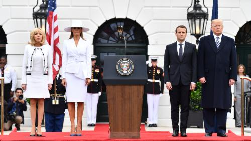 """DIRECT. """"Nous pouvons ne pas toujours être d'accord sur les solutions"""", déclare Emmanuel Macron à la Maison Blanche"""