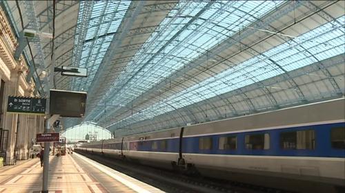 Bordeaux : la CGT Energie coupe l'électricité à la gare Saint-Jean