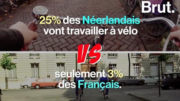 VIDEO - Pourquoi les Pays-Bas sont-ils plus ouverts aux vélos que la France ?