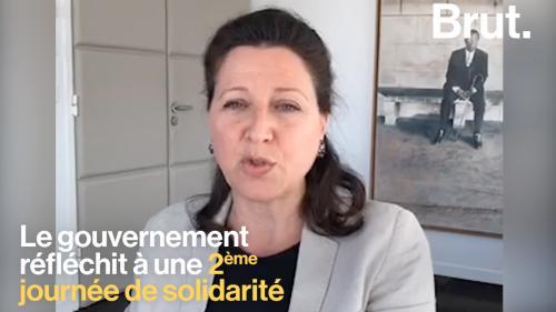 """VIDEO. Bientôt une 2e journée de solidarité ? """"Ce ne sera pas une décision unilatérale du gouvernement"""", assure Agnès Buzyn"""