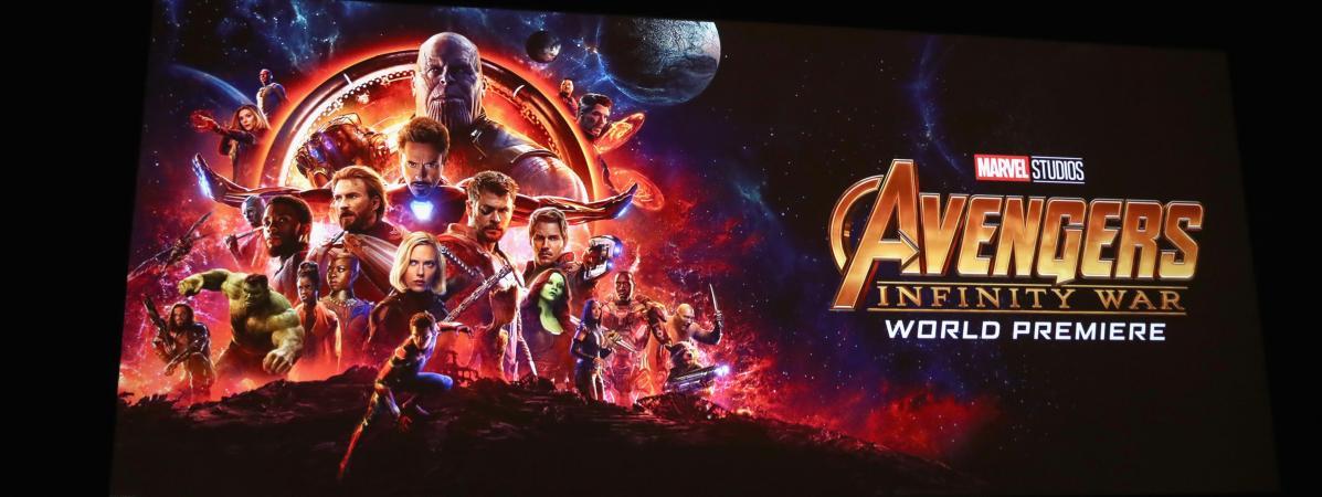 avengers infinity war remporte plus de 510 millions d 39 euros sa sortie un record historique. Black Bedroom Furniture Sets. Home Design Ideas