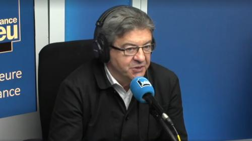 """Mélenchon répond à Macron : """"C'est assez indigne d'assimiler La France insoumise à des violences"""""""