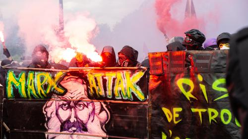 """Manifestations du 1er-Mai : """"Les black blocs sont bien plus difficiles à repérer pour les services de renseignement"""""""