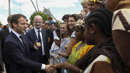 VIDEO. Regardez l'interview d'Emmanuel Macron en Nouvelle-Calédonie réalisée par La 1ère