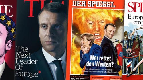 """""""Aucun autre dirigeant de sa stature ne déclenche une telle ferveur"""" : comment la presse internationale juge Macron"""