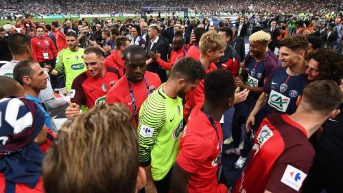 """Coupe de France: """"Sur le papier, l'écart était très important mais on a eu des guerriers"""", le président du club des Herbiers est fier de ses joueurs"""