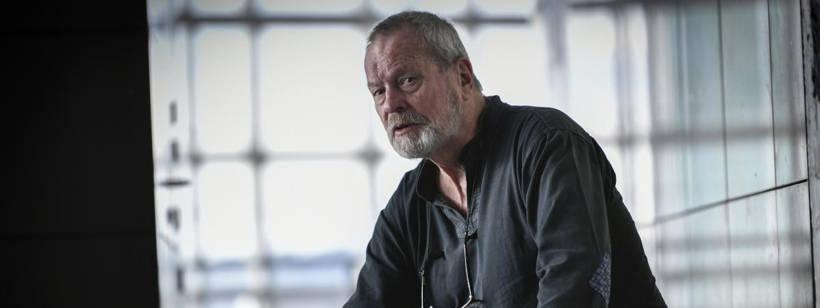 Le réalisateur Terry Gilliam, le 13 mars 2018 à Paris.