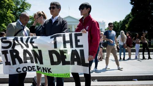 """DIRECT. Nucléaire iranien: """"Cet accord n'est pas mort"""", affirme Jean-Yves Le Drian"""
