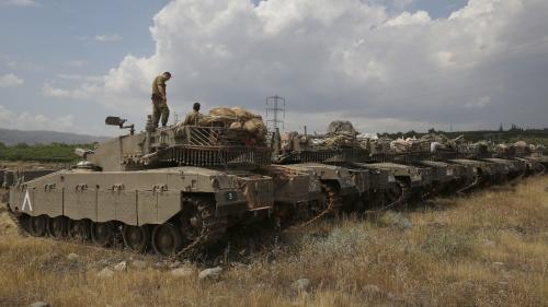 Première confrontation directe entre Israël et l'Iran en Syrie, après des tirs de roquettes dans le Golan