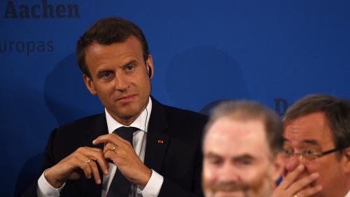 DIRECT. Regardez le discours sur l'Europe qu'Emmanuel Macron prononce à Aix-la-Chapelle