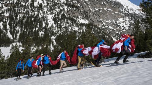 Hautes-Alpes : les opérations antimigrants des identitaires sont contraires à la loi, rappelle le ministère de la Justice