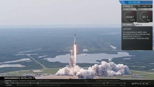 SpaceX a lancé avec succès Falcon 9 Block 5, sa plus puissante fusée