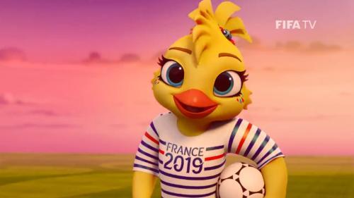 Foot: voici Ettie, la mascotte de la Coupe du monde féminine qui aura lieu en France en 2019