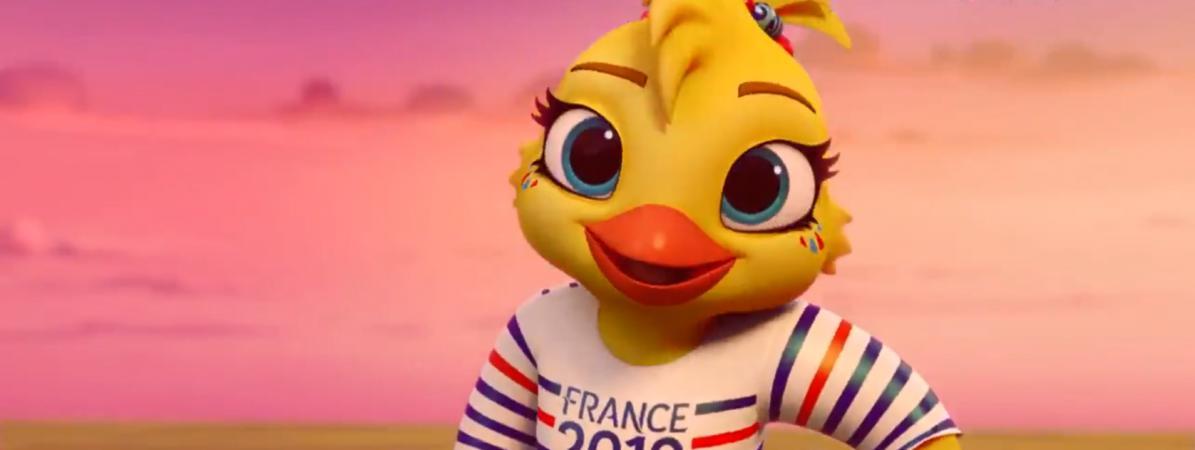 Foot voici ettie la mascotte de la coupe du monde - La mascotte de la coupe du monde 2014 ...
