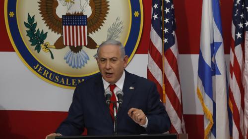 """VIDEO. Transfert de l'ambassade américaine à Jérusalem : """"Le président Trump a fait l'Histoire"""", estime Benyamin Nétanyahou"""