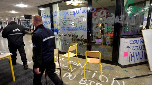 nouvel ordre mondial | L'université Rennes2 évacuée
