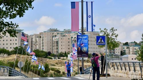 """""""Dans un sens, ça peut aider"""": àJérusalem-Ouest, les Israéliens saluent autant qu'ils redoutent le déménagement de l'ambassade des Etats-Unis"""