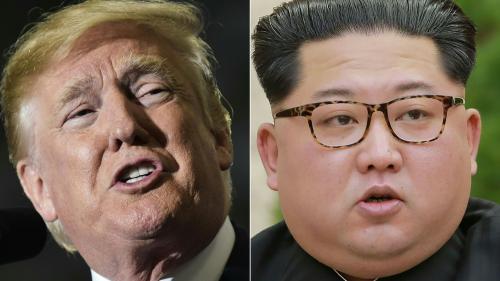 """La Maison Blanche a """"bon espoir"""" que le sommet prévu entre Donald Trump et Kim Jong-un se tienne"""
