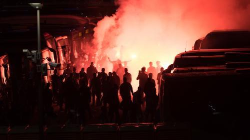 Défaite de l'OM en Ligue Europa : plusieurs interpellations après des heurts dans le centre de Marseille