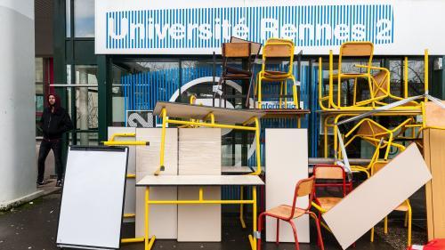 L'université Rennes 2 annonce l'annulation des examens en raison du blocage du site
