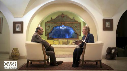 """VIDEO. """"On a aidé Sarkozy et c'est la pure vérité"""", assure l'ancien interprète du colonel Kadhafi à """"Cash Investigation"""""""