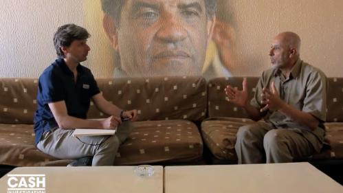 """VIDEO. """"Le Guide a donné son feu vert pour le financement"""", selon un ancien des services secrets libyens"""