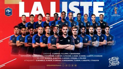 Coupe du monde : carton rouge pour le photomontage de la Fédération française de foot