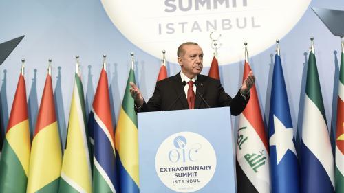 Le président turc compare le sort des Palestiniens à Gaza à celui des juifs sous les nazis