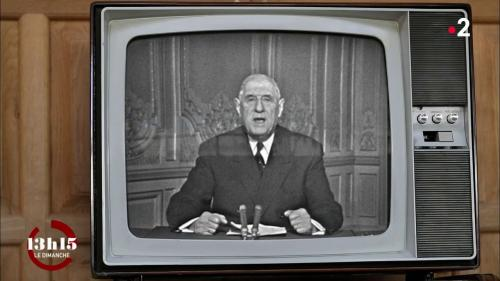 """VIDEO. """"L'année 1968, je la salue avec sérénité"""" : Charles de Gaulle, lors des vœux présidentiels... le 31 décembre 1967"""