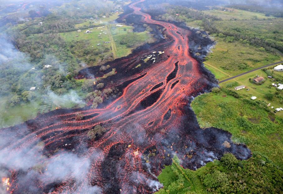 EN IMAGES. Coulées de lave, explosions, glissements de terrain... Hawaï affronte le volcan Kilauea