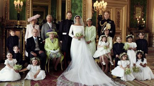 Voici les premières photos officielles du mariage du prince Harry et de Meghan Markle