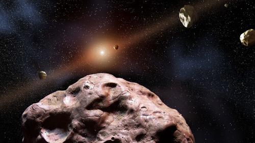 Première découverte d'un astéroïde d'origine étrangère dans notre système solaire