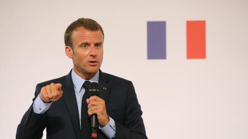 Stages en entreprise, testing... Cinq annonces faites par Emmanuel Macron lors de son discours sur les banlieues