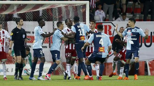 La LFP confirme la victoire d'Ajaccio sur Le Havre, mais les Corses devront jouer à huis clos contre Toulouse
